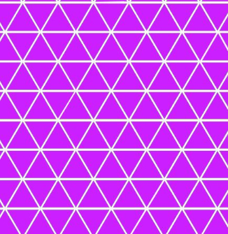 Purple Geometric Swim - (1 yd cut)