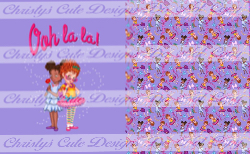 Retail - Minky- Ooh La La (Purple) Friends Child Topper