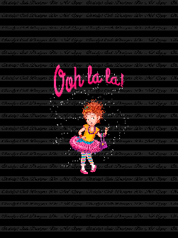 Retail - CL - Ooh La La only Nancy(Black) Panel 21x28