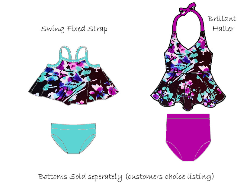 FEATURED - Brilliant Halter/Swing Swim Floral Arrangement
