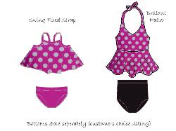 FEATURED - Brilliant /Swing Swim Pink Dots