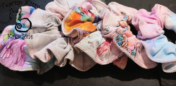 TKK SCRUNCHIES:SUMMER VIBES COLLECTION