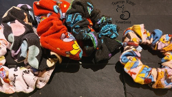 TKK SCRUNCHIES:CHARACTER COLLECTION