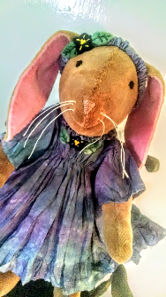Button Jointed Waldorf Bunny Rabbit