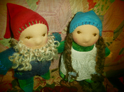 Waldorf Gnome Soft Body Dolls Custom Order