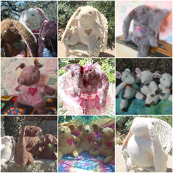 Waldorf Elephant, Sheep, Pig, Bear, or Bunny Rabbit Plush 2 Sizes Custom, Weighted Or Regular
