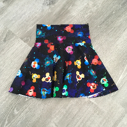 5t Circle Skirt - Soaring Midnight Madness