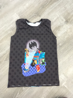 7/8 Boy Lego Tank Top - RTS
