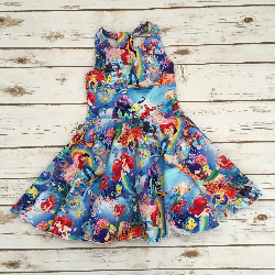 Size 4t - Solis Dress - Ariel