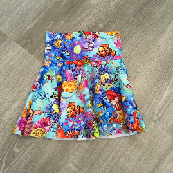 4t Circle Skirt - Undersea Magic