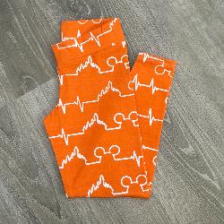 5t Leggings - Magic Beat Orange