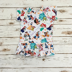 5t Short Sleeve Peplum - Friends 4 Ever