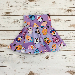 3t Circle Skirts - Light Purple Egg-Tastic