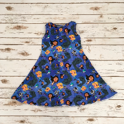 Size 4/5 - Sweet Agnes Dress - Pocahantas