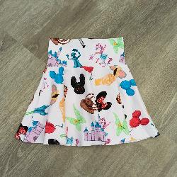 size 6 Circle Skirt - Doodle Magic