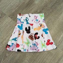 size 8 Circle Skirt - Doodle Magic