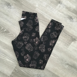 size 6 Leggings -HP Black