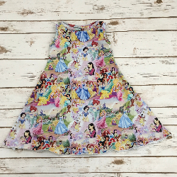 Size 3/4 - Sweet Agnes Dress - Princesses
