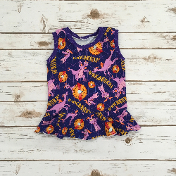 2t- Tank Peplum - A Little Spark of Imagination