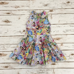 Size 4t - Solis Dress - Princesses