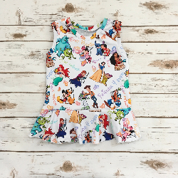 5t - Tank Peplum - Friends 4 Ever
