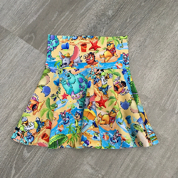 2t Circle Skirt - Beach Party