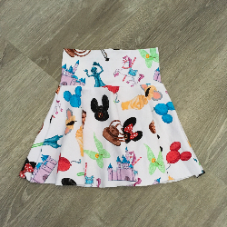 size 12 Circle Skirt - Doodle Magic