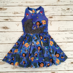 Size 5t - Solis Dress - Pocahantas