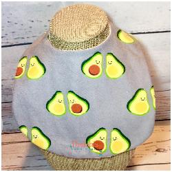 Avocado Baby Bib