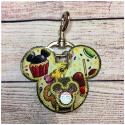 Yellow Snacks Mouse Ear Holder