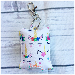 Sleepy Unicorn Hand Sanitizer Case