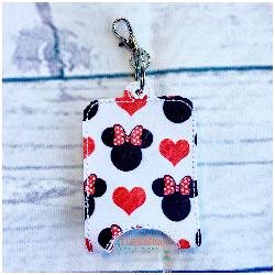 Miss Mouse Hand Sanitizer Case