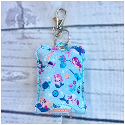 Mermaid Hand Sanitizer Case