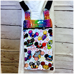 Hats Cross Body Bag- Rainbow
