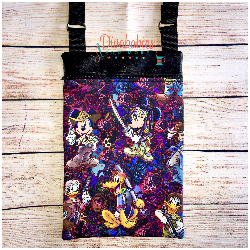 Mickey Inspired Walking Dead Cross Body Bag