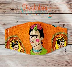 Custom Frida Face Mask