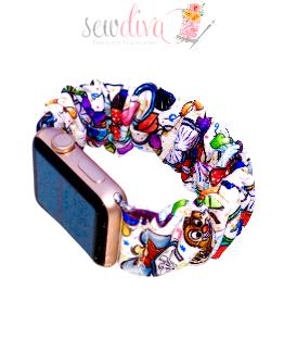 Custom Magic Ears Scrunchie Watch Band