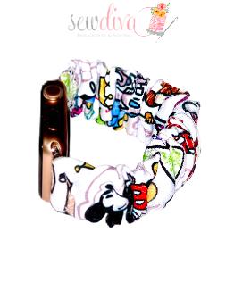 Custom Looney Scrunchie Watch Band