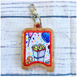 Popcorn Snacks Hand Sanitizer Case