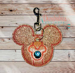 Rose Gold Mouse Ear Holder