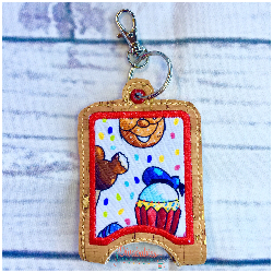 Snacks Donald Hand Sanitizer Case