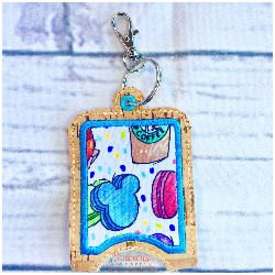 Snacks Disney Hand Sanitizer Case