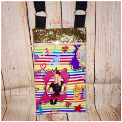 Dancing Girl Crossbody Bag
