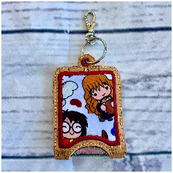 Young Wizard and Witch Hand Sanitizer Case