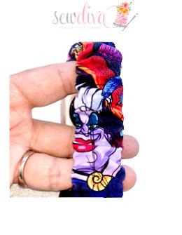 Custom Villains Scrunchie Watch Band