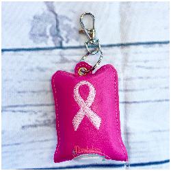 Breast Cancer Awareness Hand Sanitizer Case