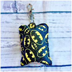 Bat Symbol Hand Sanitizer Case