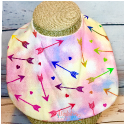 Rainbow Arrow Bib