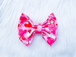 Pink Mousefetti BOW