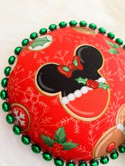 Red Christmas Cookies